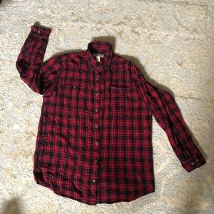 Red Flannel Size Large/Tall Duluth Trading Conpany